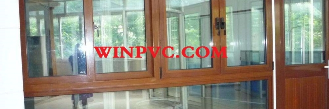 Customized PVC windows